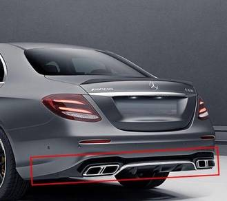Mercedes benz W213 E63 Diffuser AMG E63