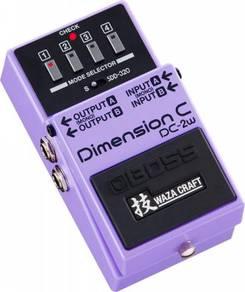 Boss dc2w / dc-2w Dimension C Guitar Pedal (FREE C