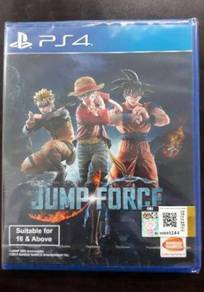 NEW AND SEALED PS4 Game Jump Force r3