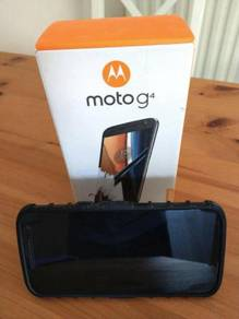 Motorola Moto G4 16GB Black Smartphone 5.5 inch