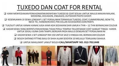 Tuxedo,Suit,Coat for Wedding, Dinner & Photoshoot