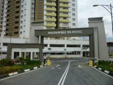 Magnaville Condo Selayang 1023sqft RENOVATED 100% Full Loan Nice View
