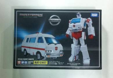Transformers Takara MP-30 MP30 Ratchet + Coins