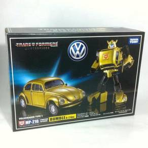Transformers MP-21G Gold Bumblebee + Coins