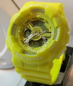 Watch- Casio BABY G BA110BC YELLOW -ORIGINAL