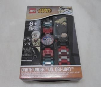 LEGO Star Wars Darth Vader vs. Obi Wan Kid's Watch