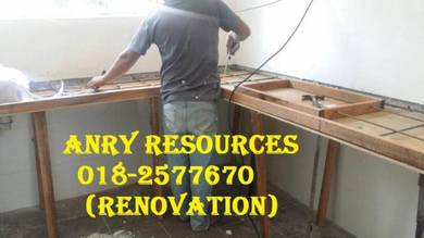 Sambung rumah buat dan renovation