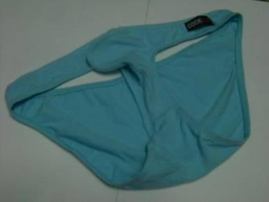 UM168-5 Sexy Light Blue Briefs Men's Underwear