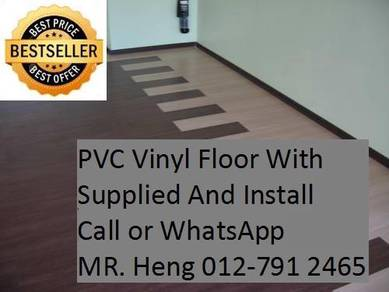 Quality PVC Vinyl Floor - With Install 34554h