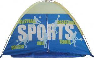 Sport dome play tent
