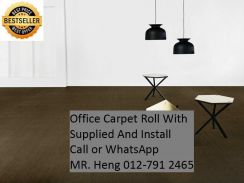 Plain Design Carpet Roll - with install 76OV