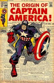 Poster CAPTAIN AMERICA COMICS COVER