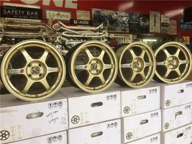 Sport Rim SSR Type C 15 Inch Ori Look Light Gold