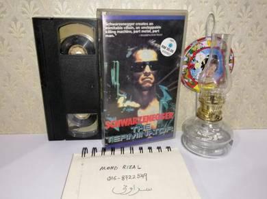 THE TERMINATOR VHS Film Movie Video Tape 1984