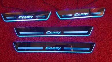 Toyota camry led door step led side sill plate