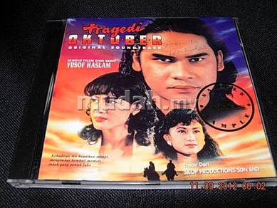 TRAGEDI OKTOBER SOUNDTRACK CD Awie Erra Fazi