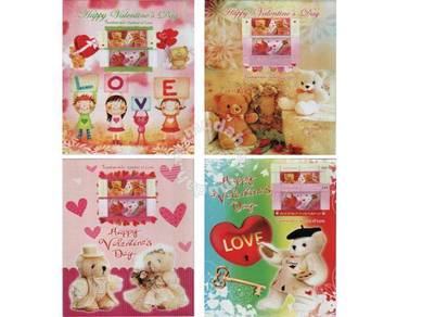 Mint Stamp Symbols of Love Teddy Thailand 2012