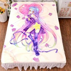 No game no life bed sheet