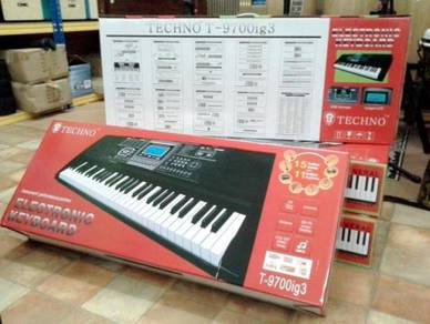 Electronic Keyboard (New ADD Tones and Rhtyms)
