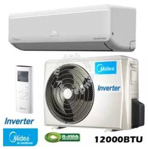 Midea 1.5HP inverter air conditioner / con / cond