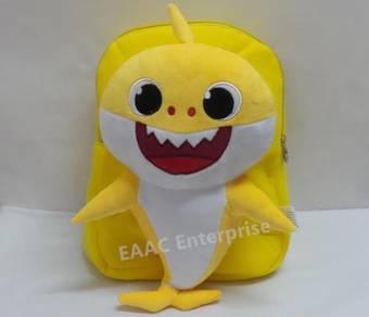 3DCute Baby Shark Backpack Kindergarten School Bag
