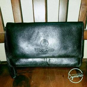 Purse Leather Woo Shin