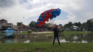 Door gift idea helium balloon with printed