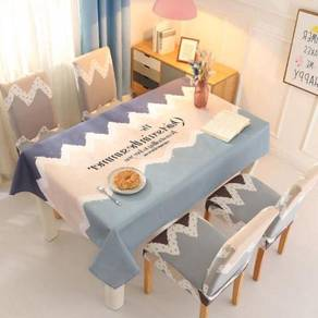 Table cloth with chair cover Alas meja kerusi V 01