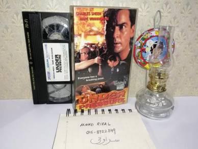 UNDER PRESSURE VHS Film Movie Video Tape 1997