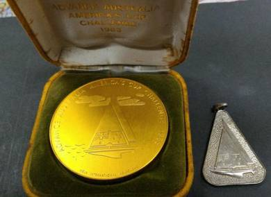 1983 Medal Advance Australia America Cup Challeng