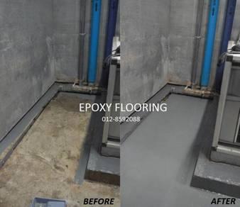 Sabah Expert Specialist Epoxy Flooring Services
