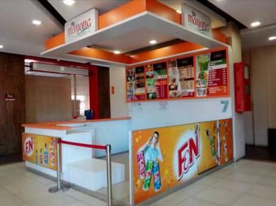 Kiosk untuk Disewa, Kuala Terengganu