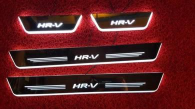 Honda hrv led door step led side sill plate