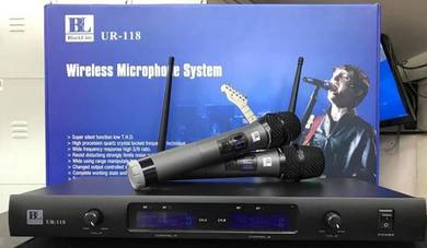 Blackline Ur118 Uhf Dual Wireless Mic