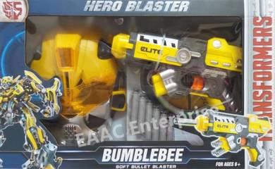 Soft Foam Bullet Gun Pistol Transformer BumbleeBee