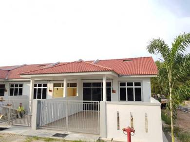 Single Storey Teres House at Tmn Impian Gemencheh