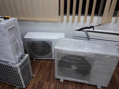 Air cond 2nd 1hp/1.5hp with installations.