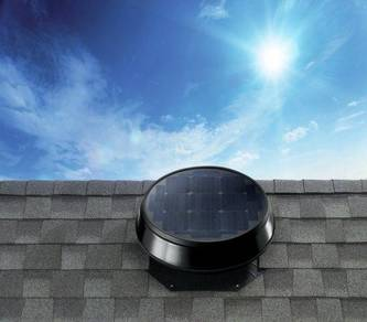 GER-W45 Solar Roof Attic Ventilator Fan - SELANGOR