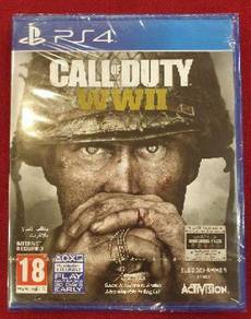NEW PS4 Game Call of Duty WWII World War 2