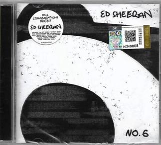 Ed Sheeran No.6 Imported CD
