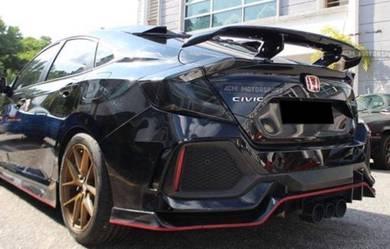 Honda civic fc x varis V2 carbon spoiler gt wing 1