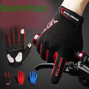 ZoliBike Full Finger Hand Glove With SBR Pad