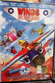 DVD Wings Sky Force Heroes Anime