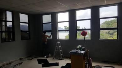 Tinted window rumah