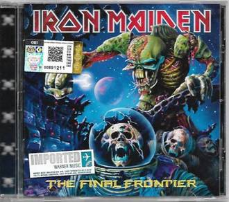 IMPORTED CD IRON MAIDEN The Final Frontier