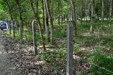 Pasang pagar & Pagar kebun & Tolak hutan & Hijau