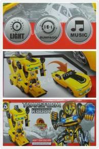 Bumblebee Transformer Robot Bump and Go Car