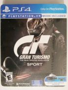 Gran Turismo Steelbook GT Sport Steelcase PS4 Game