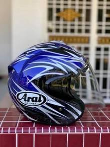 Arai helmet Ram3 Stella biru