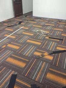 Carpet off surau n vinyl flooring